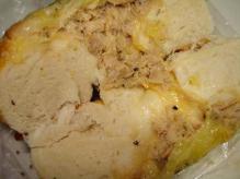 ツナメルトチーズ断面