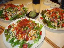 海鮮サラダ3人
