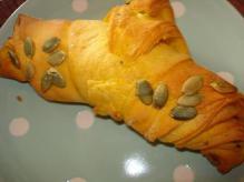 南瓜のクロワッサン