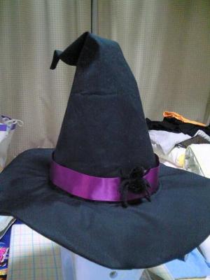 魔女っこ帽子