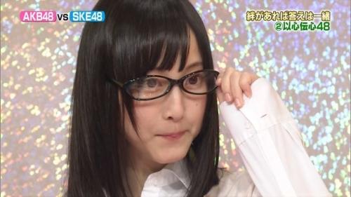 松井玲奈ちゃんの激カワメガネ姿wwwwwwwwwwwww
