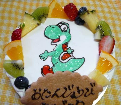 ヨッシーケーキ
