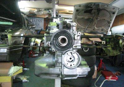 きれいになったエンジン1