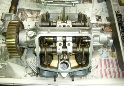 きれいになったエンジン8