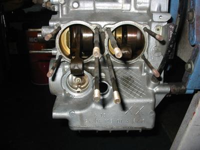 GSのエンジンブロック寄り