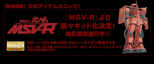 MG MS-06S ジョニー・ライデン専用ザクII b0