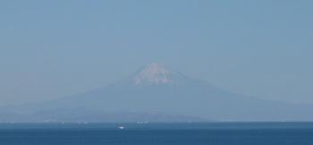 富士山御前崎から