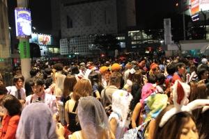 ハロウィンの渋谷(1)