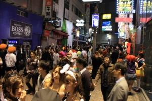 ハロウィンの渋谷(2)