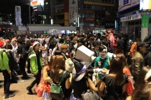 ハロウィンの渋谷(3)