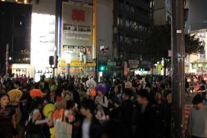 ハロウィンの渋谷(6)