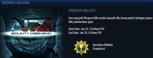 OPERATION BALLISTIC