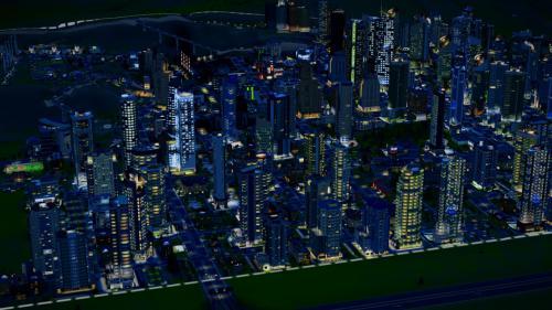 夜の第一都市