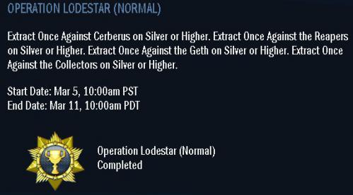 OPERATION LODESTAR