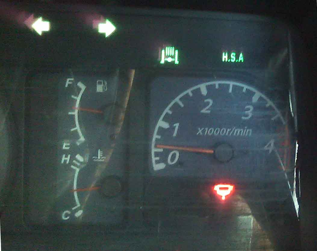 燃料フィルター警告