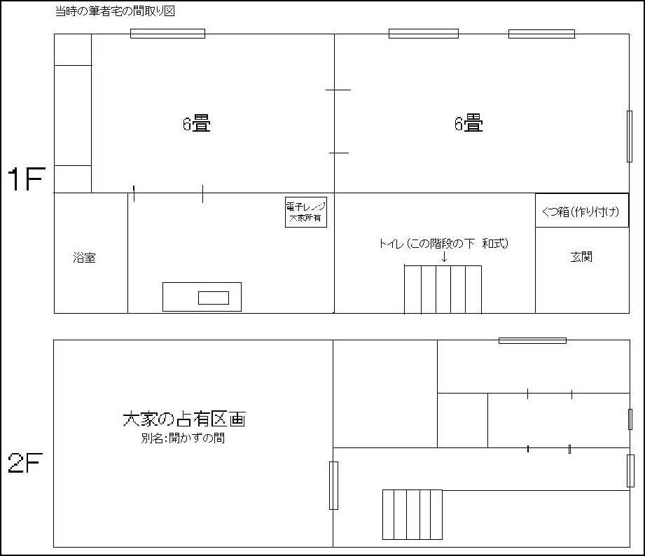 新宿の自宅間取り コピー