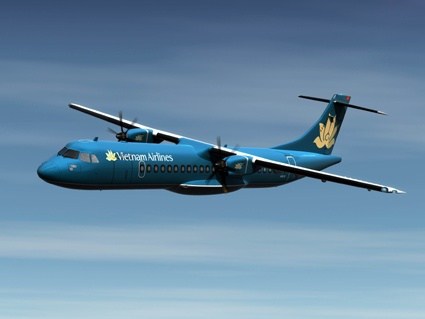 ATR 72-500 Vietnam Airlines in flight
