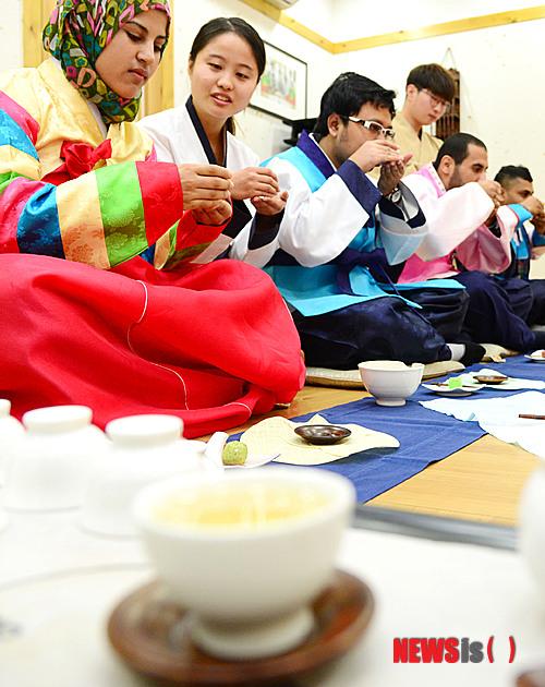 韓国茶道2