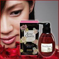 Rose Quartz shampoo / ローズクォーツシャンプー 360ml【バラの香りの泡シャンプー】