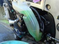 [整備] GSX1300R 冷却水