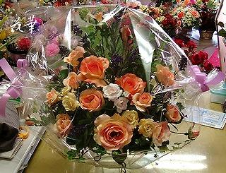 母の日に贈るアートフラワー(上質造花)のアレンジメント・プレゼント