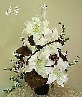 ご仏壇に飾るプリザーブドフラワーのアレンジメント・オーダーメイド商品