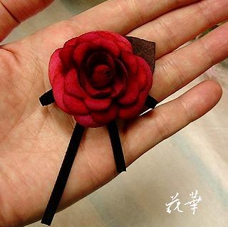 ハンドメイド・ミニバラのアクセサリー…(布花・染め花・アートフラワー)