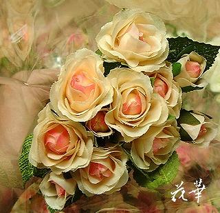 販促用・千円の薔薇の花束(アートフラワー・上質造花)