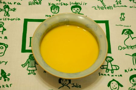 かぼちゃのポタージュスープ