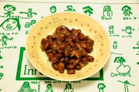 きんとき豆の甘煮
