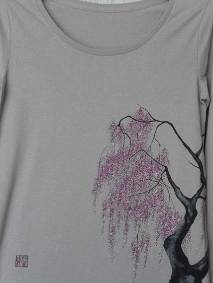 しだれ桜 Tシャツ