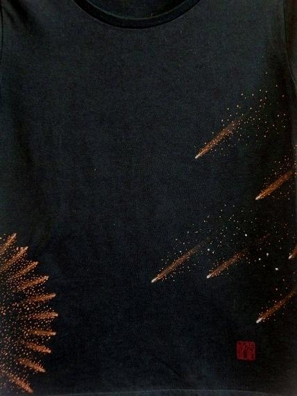 手描き 花火Tシャツ 2013 (8)