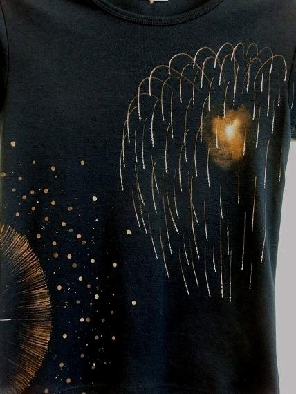 手描き 花火Tシャツ 2013 (13)