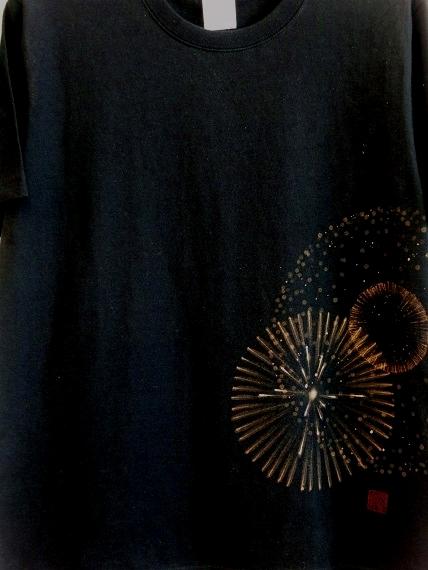 手描き 花火Tシャツ 2013 (18)