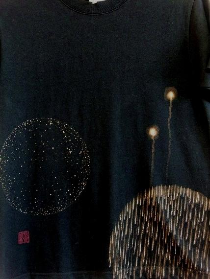 手描き 花火Tシャツ 2013 (22)