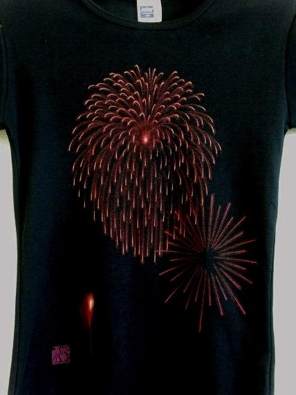 手描き 花火Tシャツ 2013 (41)