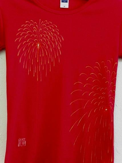 手描き 花火Tシャツ 2013 (44)