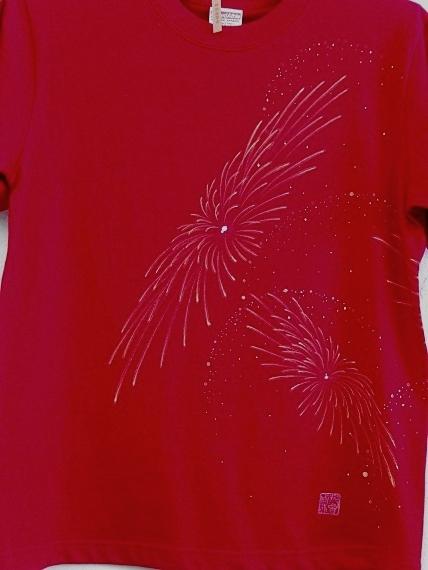 手描き 花火Tシャツ 2013 (47)