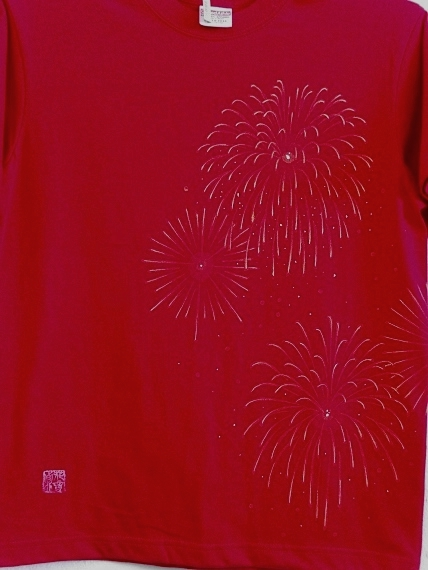 手描き 花火Tシャツ 2013 (49)