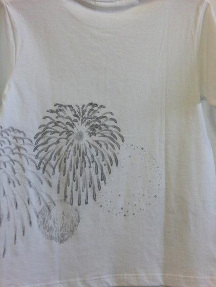 手描き 花火Tシャツ 2013 (51)