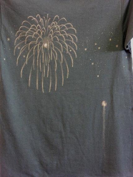 手描き 花火Tシャツ 2013 (57)