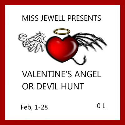 Valentine angel or devil LOGO