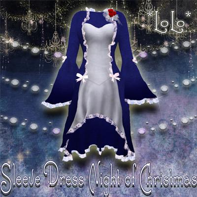 Sleeve-Dress-Night-of-Chris