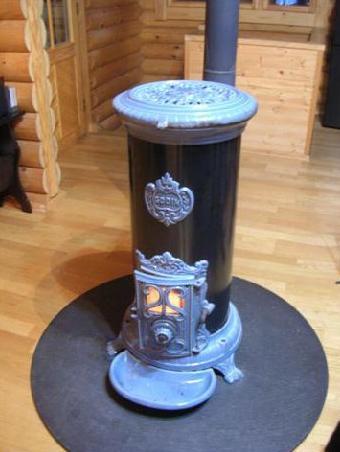 山荘の暖房
