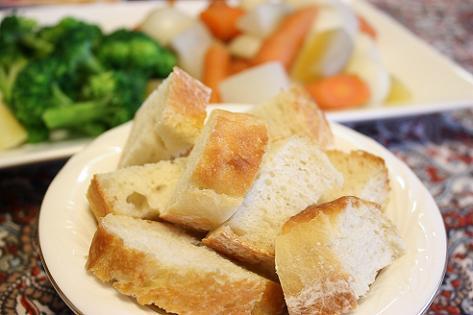 手作りフランスパン♪