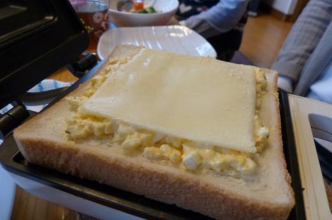 エッグチーズ♪