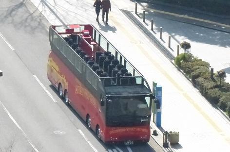 二階だてバス♪
