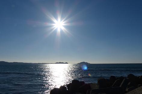 大島と地の島?