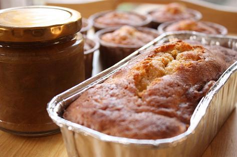 ルバーブのケーキも♪