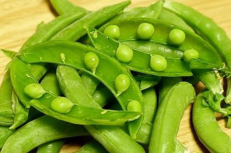 小さな豆がコロン♪